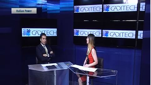 """L'Intervista di Telegenova a Fabio Petta, General Manager di CAD.I.TECH Srl, all'interno della serie """"Italian Power"""" dedicata agli imprenditori ed alle aziende liguri"""