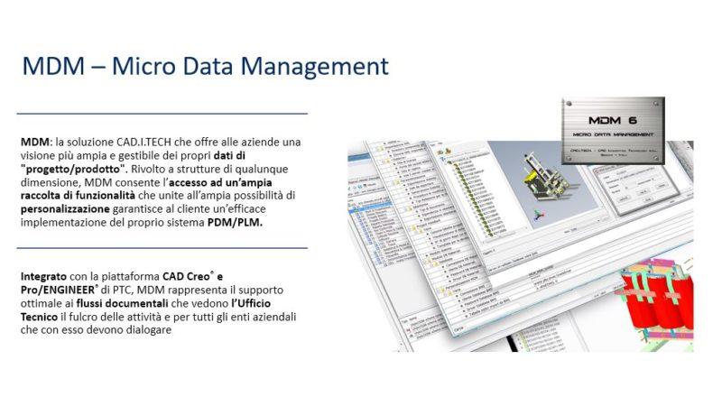CAD.I.TECH comunica: MDM Free Access Program
